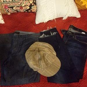 Size 8 and newsie hat bundle